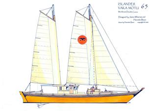 Islander 65 drawing