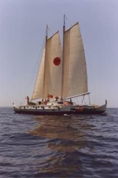 'Spirit of Gaia' in the Mediterranean