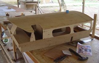 Model of deck pod