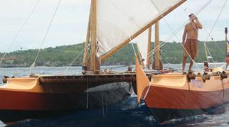 Tama Moana sailing