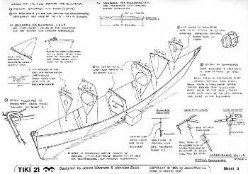 James Wharram Tiki Designs Building Plans
