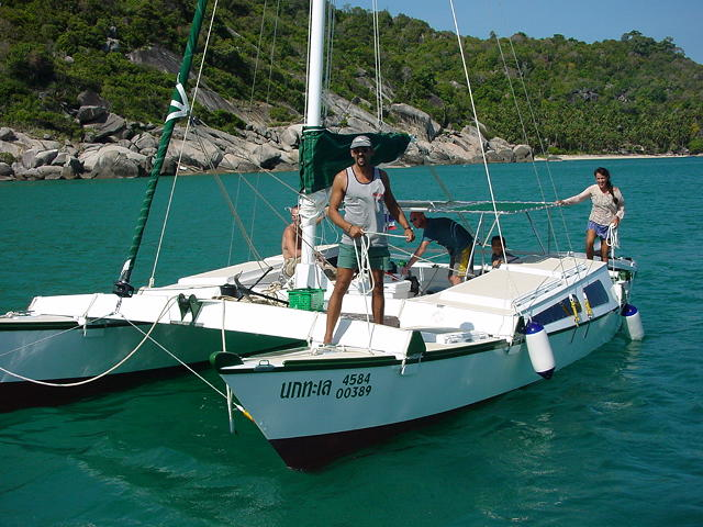 James Wharram Designs | Unique sailing catamarans, self-build and professional built boats of ...