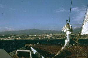 View of Las Palmas from Tehini, 1973
