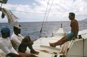 The crew of El Guincho