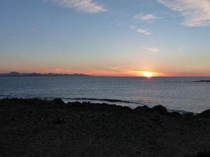 Sunset at Playa Francesca