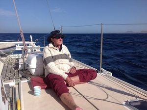 James on deck