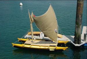 Melanesia Outrigger Canoe Self-Build Boat Plans | James ...