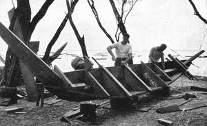 Bisschop building Kaimiloa port hull
