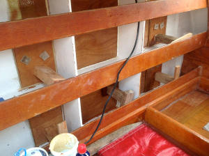 Deckpod panel from inside