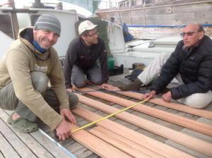 Measuring slats