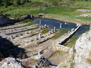 Ancient ship docks - Oiniadai.