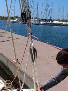 Dyneema rigging