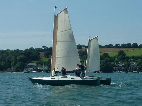 Mana 24 sailing