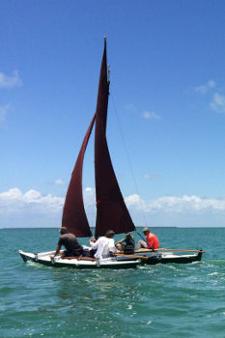 Hitia 17 sailing