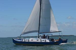 Pahi 31 sailing