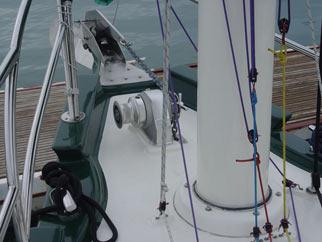 Molly bow and mast