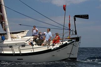 Molly sailing