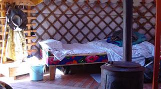 Mongolian Ger interior