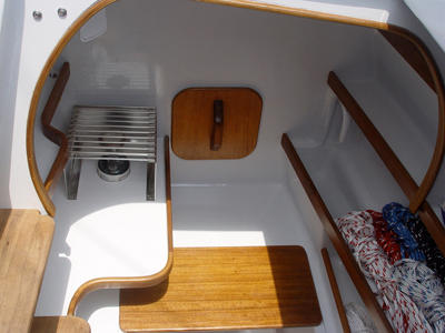 Tiki 30 interior