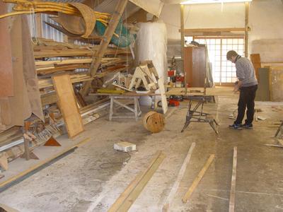 John in the JWD workshop
