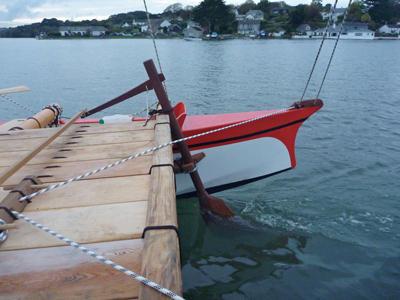 Amatasi steering paddle rudder