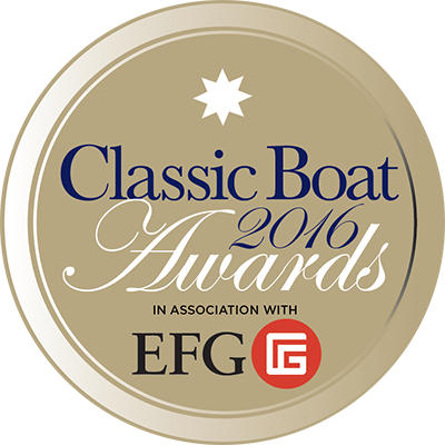 Classic Boat 2016 Awards, in association with EFG