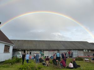 Rainbow at Wharram HQ