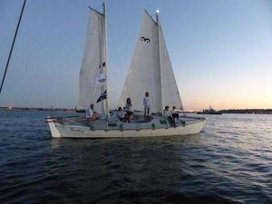 Tiki 31 Brillig sailing