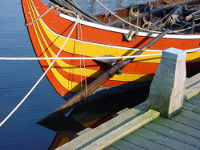 Viking ship replica
