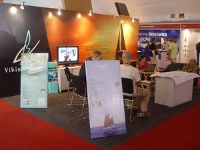 Stand at boat show