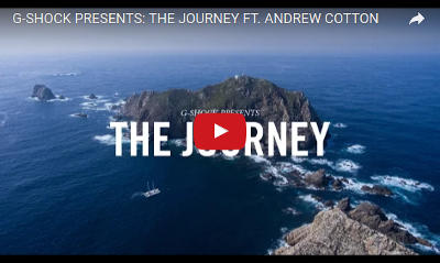 YouTube Thumbnail: The Journey, featuring Andrew Cotton