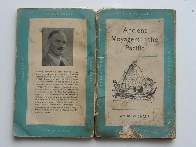 Ancient voyagers in the Pacific book by Andrew Sharp