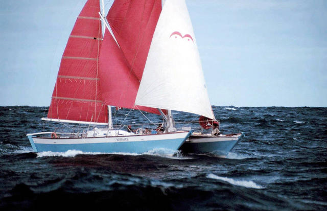 Wharram Oro sailing