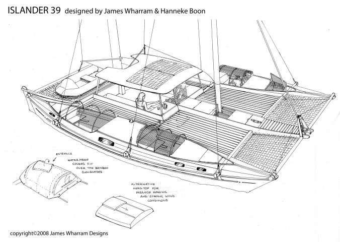 Islander 39 3D drawing