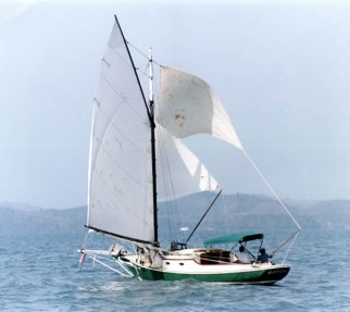 Monohull friendship sloop
