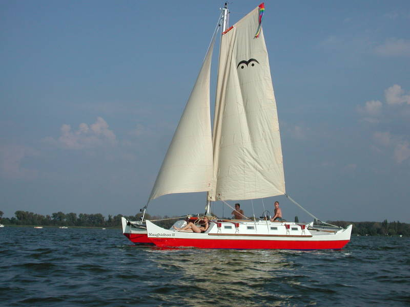 Wharram Wingsail Rig for Pahi Designs