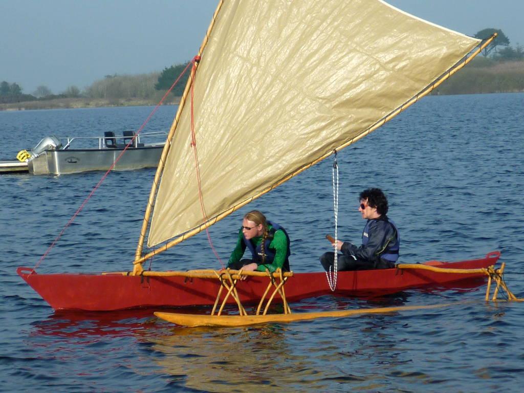 Melanesia Outrigger Canoe