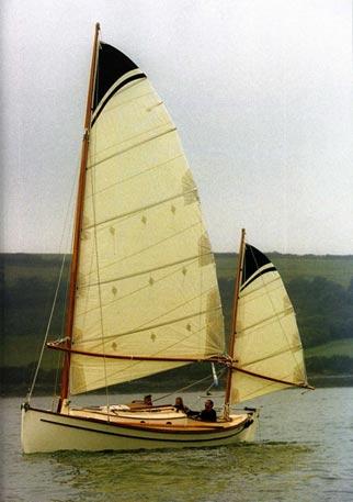 Sharpy yacht