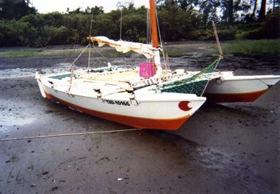 Hitia 17 on the mud