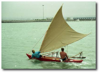 Self-Build Boat Plans - Melanesia Outrigger Canoe | James Wharram Designs