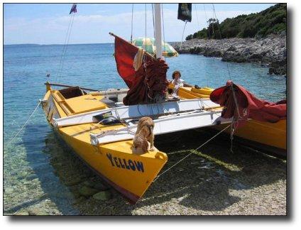 Self-Build Boat Plans - Tiki 26 | James Wharram Designs
