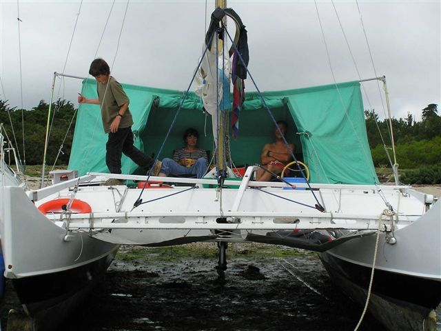 Decktent for Pahi 26