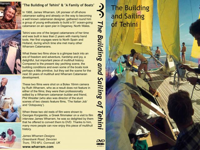 Building and Sailing of Tehini DVD