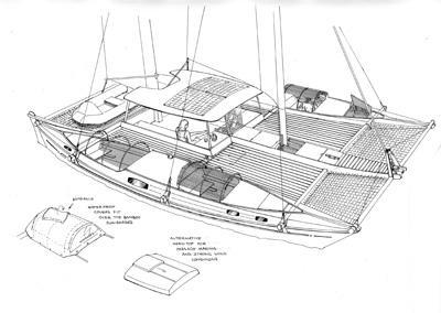 Islander 39 drawing