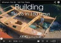 Building A Tiki 26 in 180 days